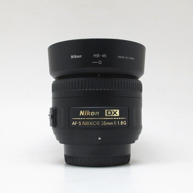 USED Nikon AF-S DX NIKKOR 35mm F/1.8G Lens With Auto Focus For Nikon DSLR Cameras