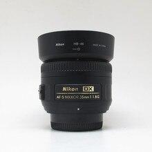 USED Nikon AF S DX NIKKOR 35mm f/1.8G Lens with Auto Focus for Nikon DSLR Cameras