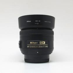 VERWENDET Nikon AF-S DX NIKKOR 35mm f/1,8G Objektiv mit Autofokus für Nikon DSLR Kameras