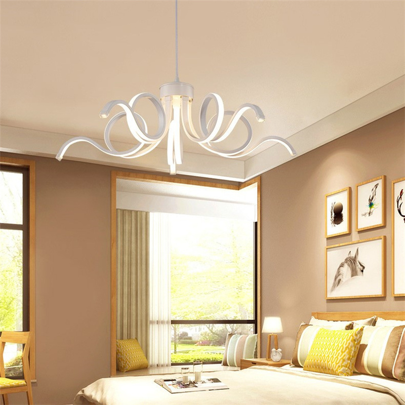 Postmodern LED Pendant Lamp Creative Bedroom Living Room Lamp Dining Room Lamp Personality Lighting Restaurant Home Lighting