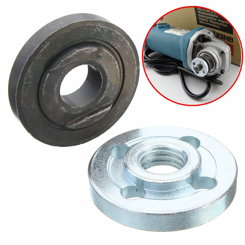 1 Pair Metal Electrical Angle Grinder Fitting Part Inner Outer Flange for Makita 9523 D3cm x H0.5mm In Stock рама на тонар 9523