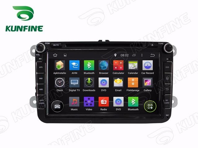 Quad Core 1024*600 Android 5.1 Reproductor de DVD Del Coche de Navegación GPS Estéreo Del Coche para VW 2006-2012 Radio 3G Wifi Bluetooth