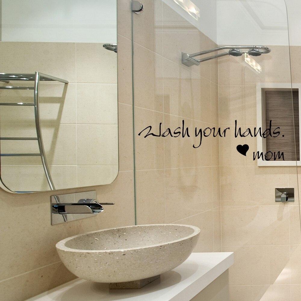 Bathroom Sink Quotes bathroom wall quotes promotion-shop for promotional bathroom wall
