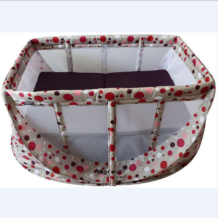 Magic bed baby game bed fashion baby bed breathable net fabric ultra-light portable folding travel 2017 new fashion simple and versatile small folding cradle bed ultra light portable crib holiday travel essential baby game bed