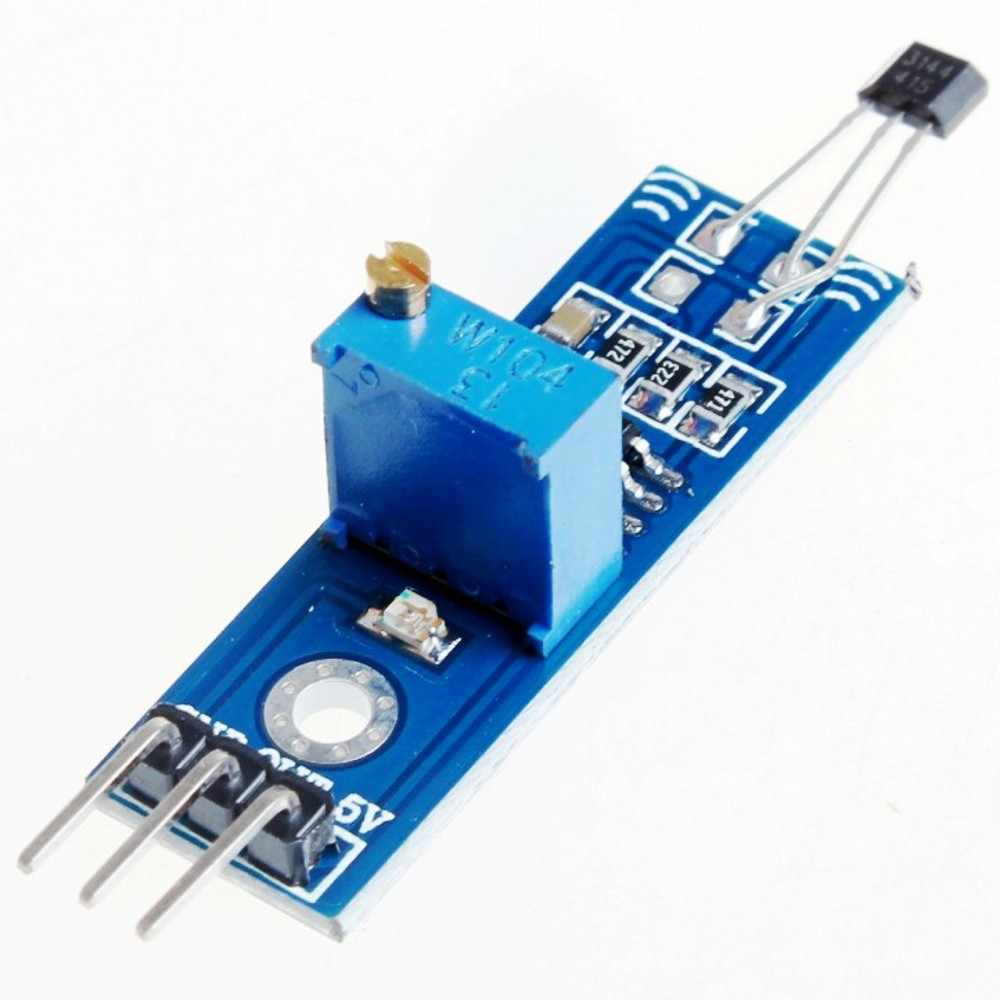 LM393 3144 Hall Sensor Module|sensor module|hall sensor