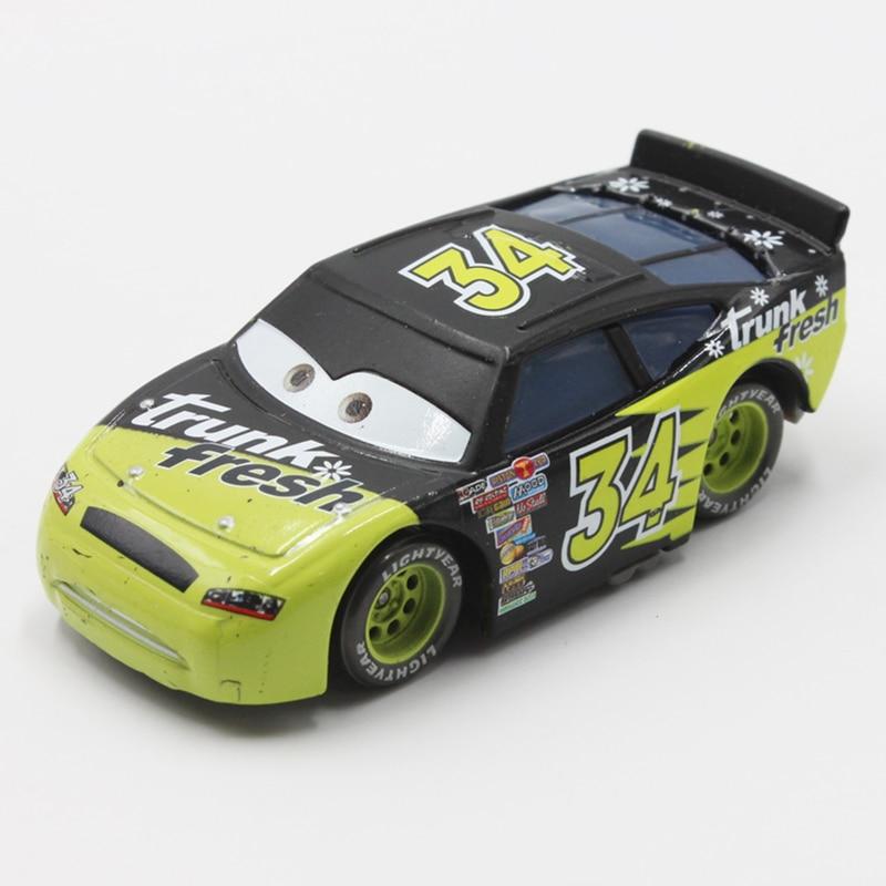 100% Original Disney Pixar Cars No.34 Trunk Fresh Racer 1