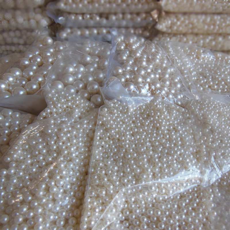 mobile <font><b>phone</b></font> hairdressing <font><b>essential</b></font> 4mm-20mm without holes ivory tint pearl DIY originality handwork material wholesale 500g
