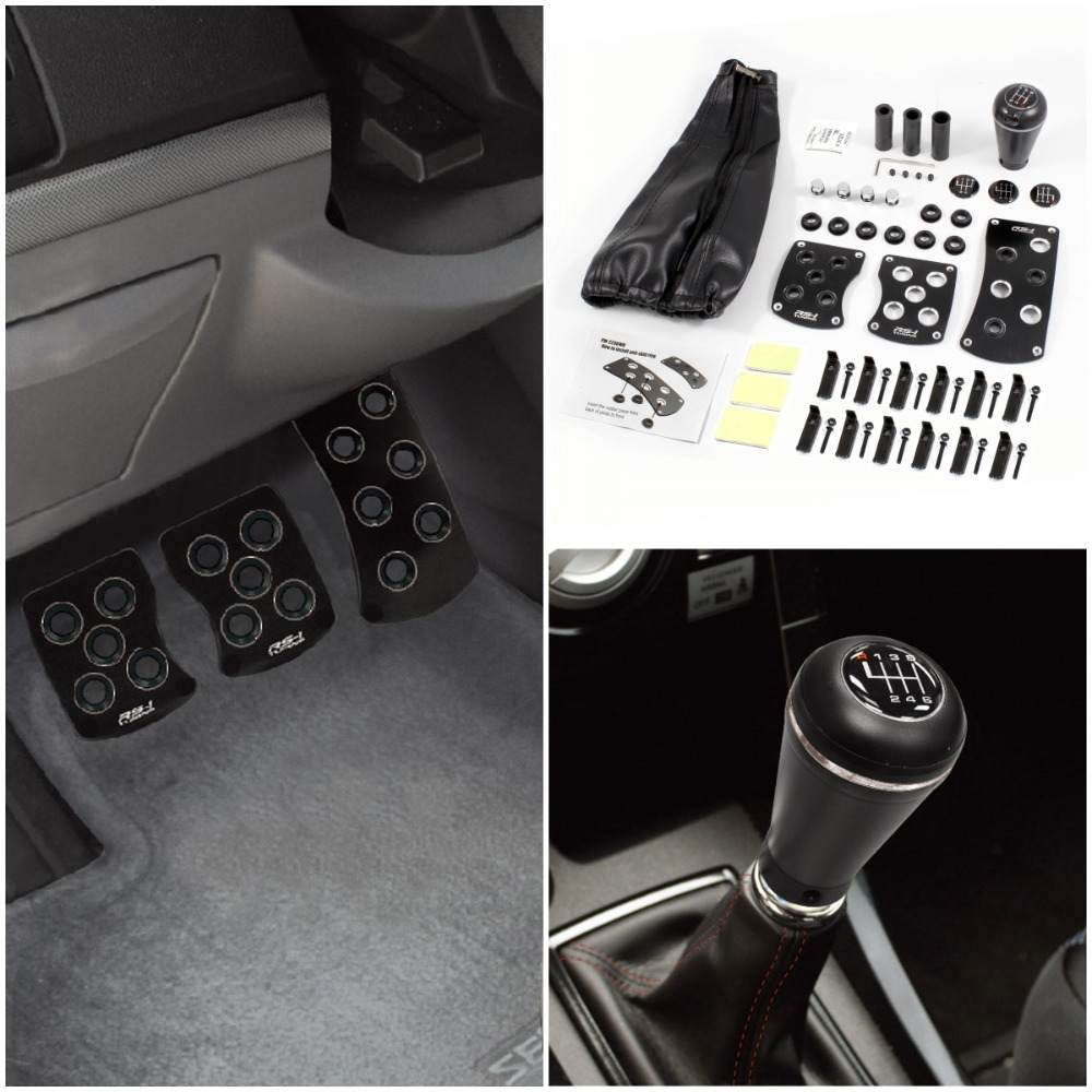 Mt Shift Knob Gear Lever Cover Pedal Kits For Nissan