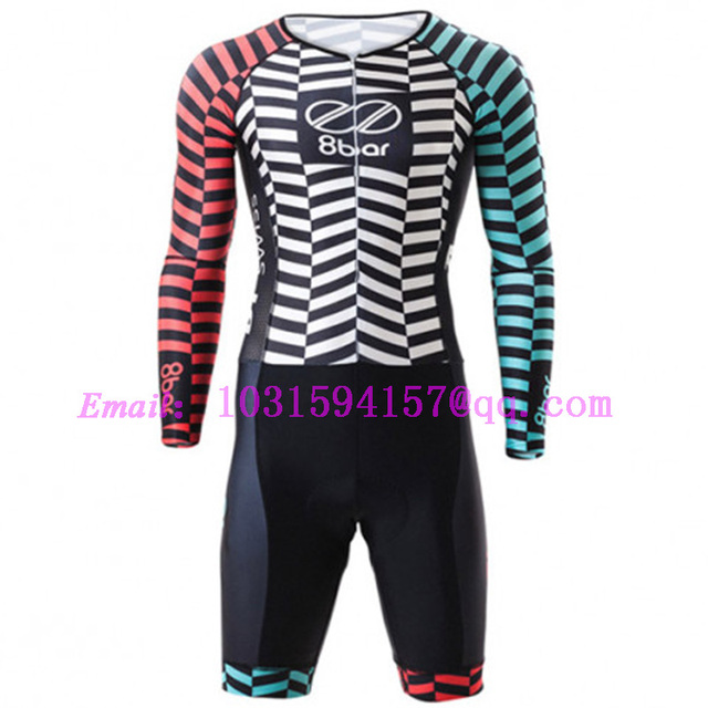 8bar Racing Speedwear Custom Cycling Skinsuit Triatlon Kit Body Suit