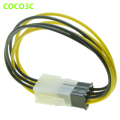6 Pin Male To Female PCI express GPU Power Supply PSU GPU Extension Cable for PCIe Graphics Card 18AWG