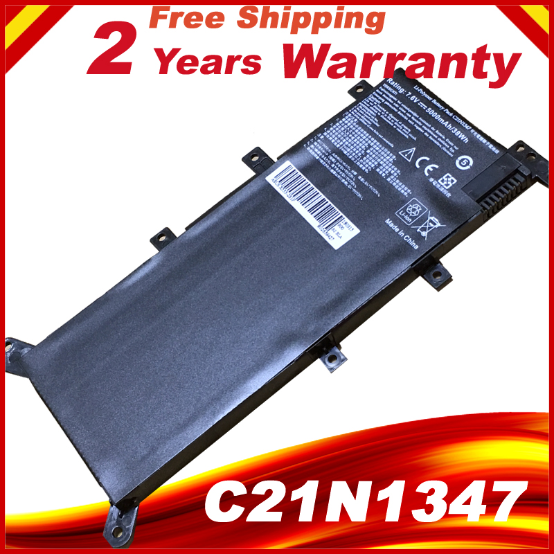 7.6V C21N1347 New Laptop Battery For ASUS X554L X555 X555L X