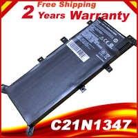 Qualité batterie d'ordinateur portable pour asus X554L X555L X555LB X555LN X555 X555LD X555LP F555A F555U W519L F555UA VM C21N1347
