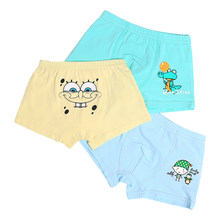 9 Style Cute Cartoon Printed Cotton Panties for Boys Children Underwear boxer robot Kids Pantie Teenager Boy Underpants 2-10T(China)