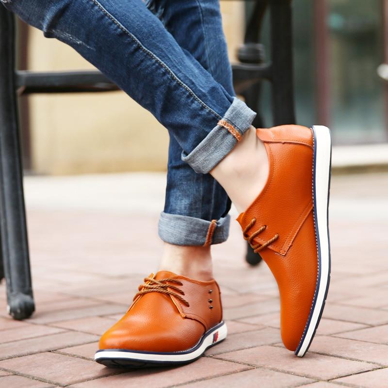 Qualidade Yellowish Trabalho Genuíno Dos blue Baixos Oxford Up Lace Moda Outono Casuais Sapatos Alta Da 2018 Nova Sapato Homens De black Couro Brown xqTzwnH01Y