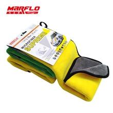 Marflo Car Wash Towel Car Cleaning Cloth Microfiber Towel Car Care Wax Polishing Detailing Towels