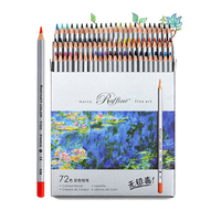 24/36/48/72 Colors Marco Colored Pencils Kids Non-Toxic Professional Oily Pencils For Drawing Pencils School Supplies
