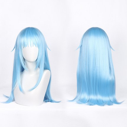 Anime Wig That Time I Got Reincarnated As A Slime Cosplay Wig Rimuru Tempest Wig Blue Hair Role Play Party Cosplay Props Costumes & Accessories