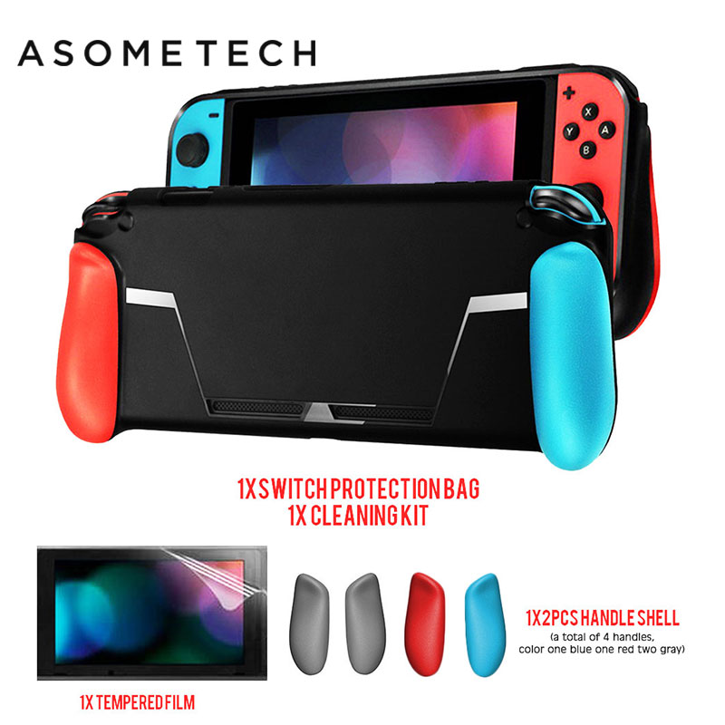 Soft Protective Cover Case for Nintend Switch Black Case For Nintendos Switch NS NX Console TPU Shell Handle Grip For Nintendo  Soft Protective Cover Case for Nintend Switch Black Case For Nintendos Switch NS NX Console TPU Shell Handle Grip For Nintendo