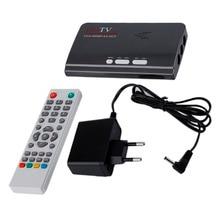 ЕС HDMI HD 1080 P С VGA/Без VGA Версия DVB-T2 ТВ коробка А. В. CVBS Тюнер Приемник Дистанционного Управления Совместим С ЭЛТ-и ЖК-(China (Mainland))
