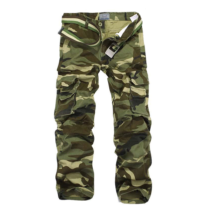 2019 New Men Waterproof camouflage tactical pants War Game Cargo pants mens Pants trousers Army military Active Pants