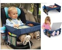 Новые дети Автомобиль Организатором детское автомобильное столик для сиденья Водонепроницаемый хранения доска игрушка автомобиль Настол