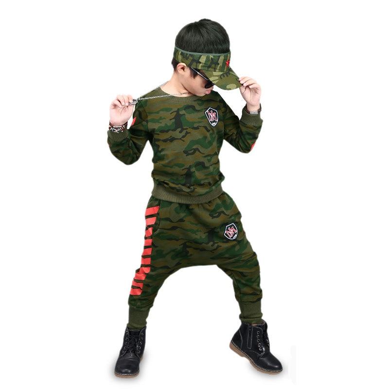 Boys Clothing Sets For 2017 Autumn Cotton Children Camouflage Clothing Set Kids Tracksuit Children Clothes 3 5 7 9 11 13 Years 2015 new 3 7 years korean children s clothing brand boys 1set 100% cotton summer boys clothing sets kids clothes