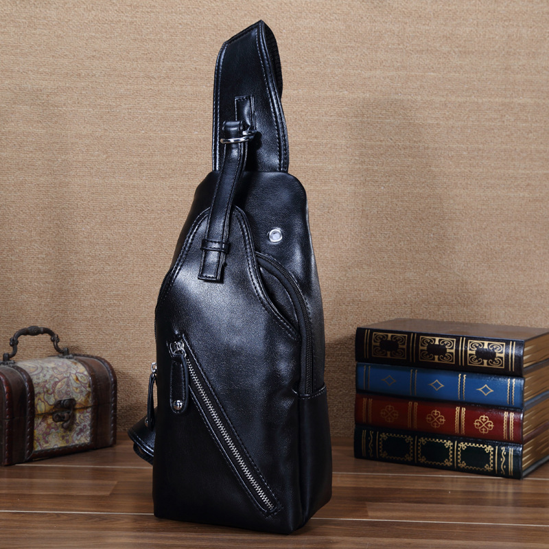 Designer Brand Men Messenger Bag Leather Shoulder Bags Men Sports Chest Bag Crossbody Pack Travel Sling Bag Sacoche Homme A0240