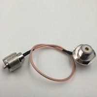 RG316 UHF PL259 plug pin UHF so239 jack pin moer 90 Jumper pigtail Kabel 10FT