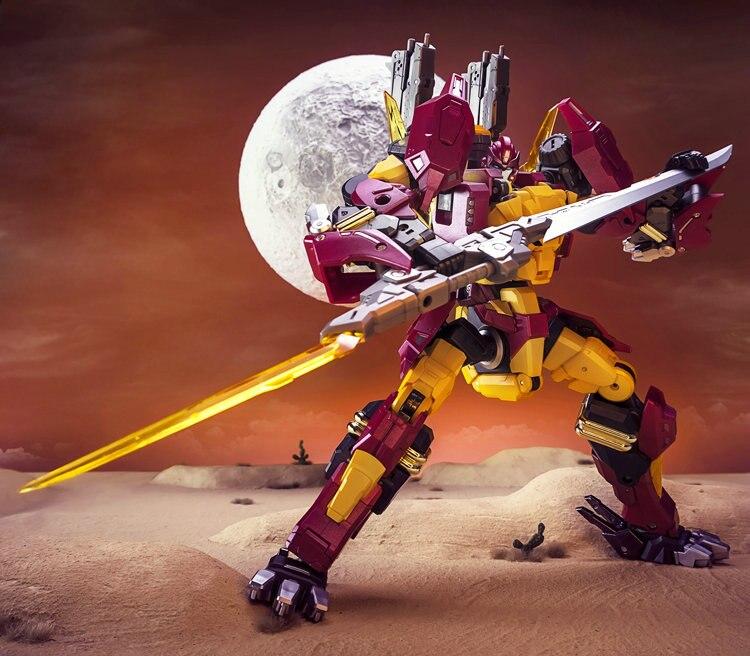 DX9 Transformation Hot Rod Rodimus Limit colección de animación clásica figura de acción Robot Juguetes-in Figuras de juguete y acción from Juguetes y pasatiempos    1