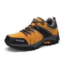 2017 новая зимняя Для мужчин открытый Треккинговые ботинки Для мужчин верхом Обувь Резиновые Спортивные Mountain Сапоги и ботинки для девочек серый/желтый кемпинг обувь
