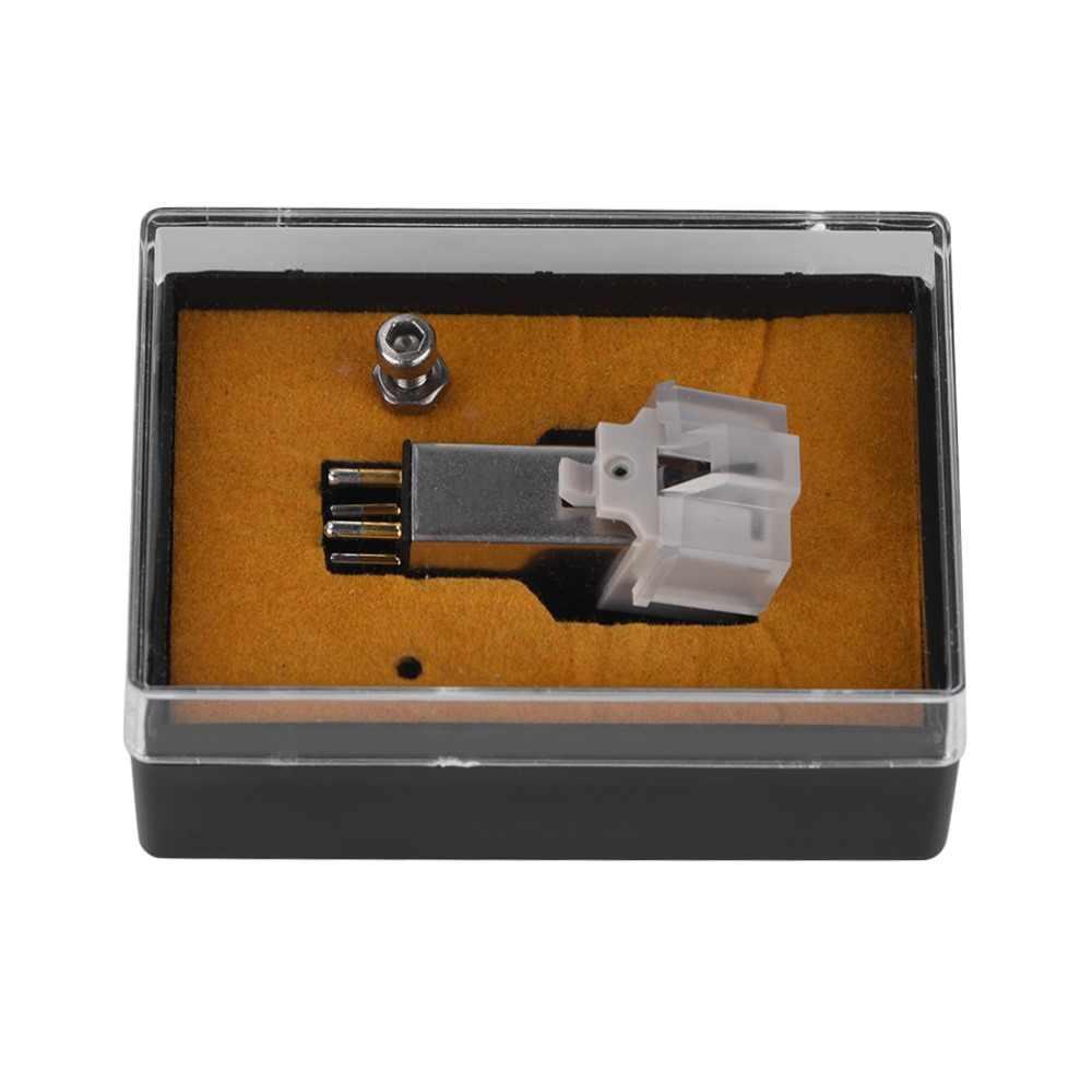 מגנטי מחסנית Stylus עם LP ויניל שיא מחט עבור פטיפון פטיפון גרמופון שיא Stylus מחט אביזרי חדש