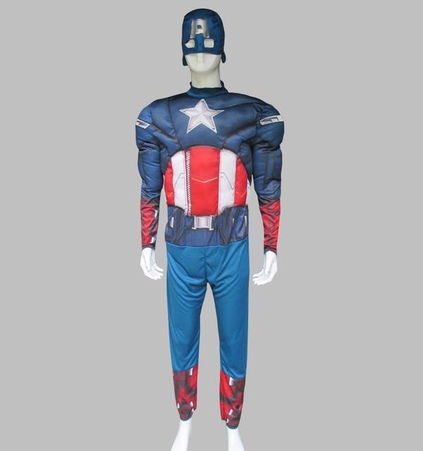 captain america halloween costume adult avengers costumes men