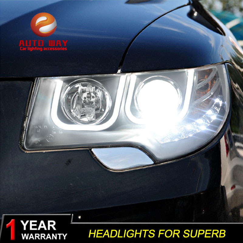 Rasti i llambës së kokës për stilimin e makinave për Skoda - Dritat e makinave - Foto 4