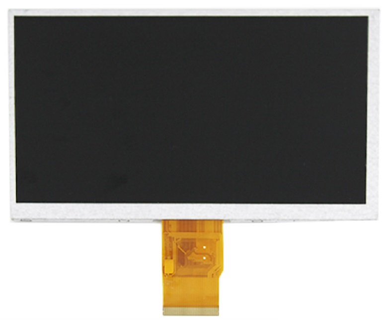 LCD DISPLAY SCREEN GLASS FOR Prestigio MultiPad 7.0 Ultra+ PMT3677 PMT3677_Wi TABLET Replacement Free Shipping