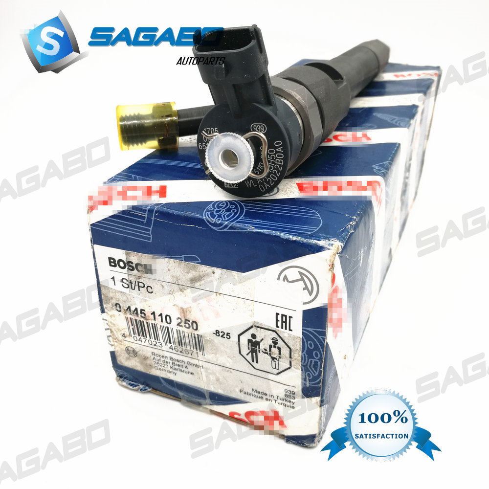 genuine and brand new Injector 0445110250 0 445 110 250 for WLAA13H50 WLAA 13H50 WLAA 13H50