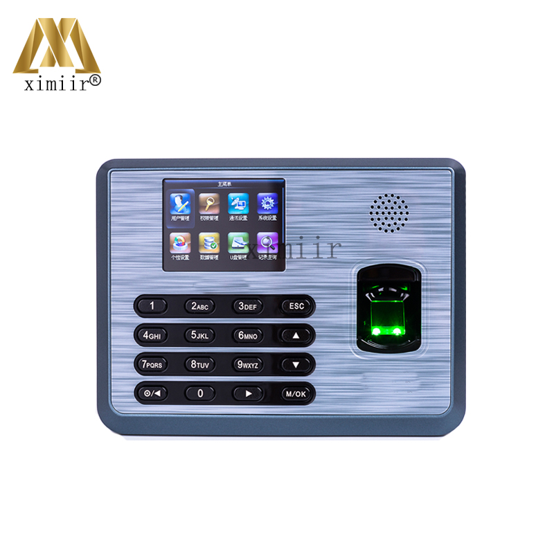 Biometric TCP/IP Time Clock Fingerprint Time Attendance TX628 Optional ID Or IC Card Fingerprint Time Recognition Machine