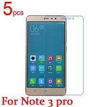 5 шт. Ultra Clear глянцевая/Матовая/Nano анти-Взрыв Протектор Экрана LCD Пленочной оболочкой для Xiaomi Redmi Hongmi note 4 4X1 2 3 pro