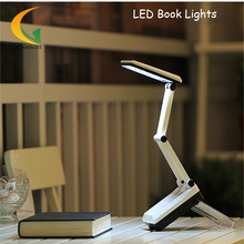 HGHomeart Reading Light Rechargeable Folding LED Light Book Reading Lamp Book Reading Lamp Desk Lamp Black Notebook Power Bank