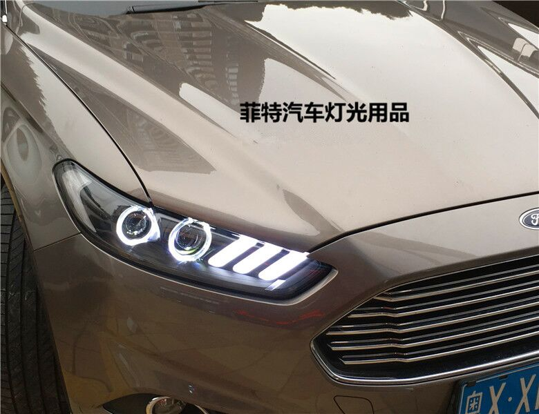 Fett Lights For Ford Fusion Anium Mondeo Headlight 2017 Year Mustang Style Jc In Car Light Embly From Automobiles Motorcycles On