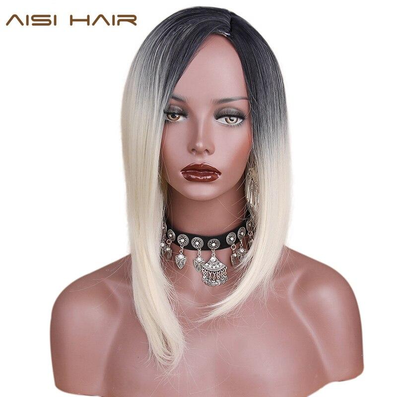 волосы половина белые половина черные