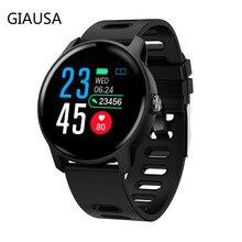 S08 Men Sport Pedometer Smart Watch IP68 Waterproof  Fitness Tracker Heart Rate Monitor Women Clock Smartwatch amazfit gtr