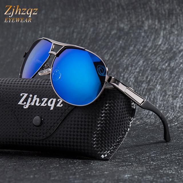 c4f68e9ed4 ZJHZQZ Fashion Men s UV400 Polarized Sunglasses Men Driving Shield Eyewear  Outdoor Sports Running Golf Driving Sun