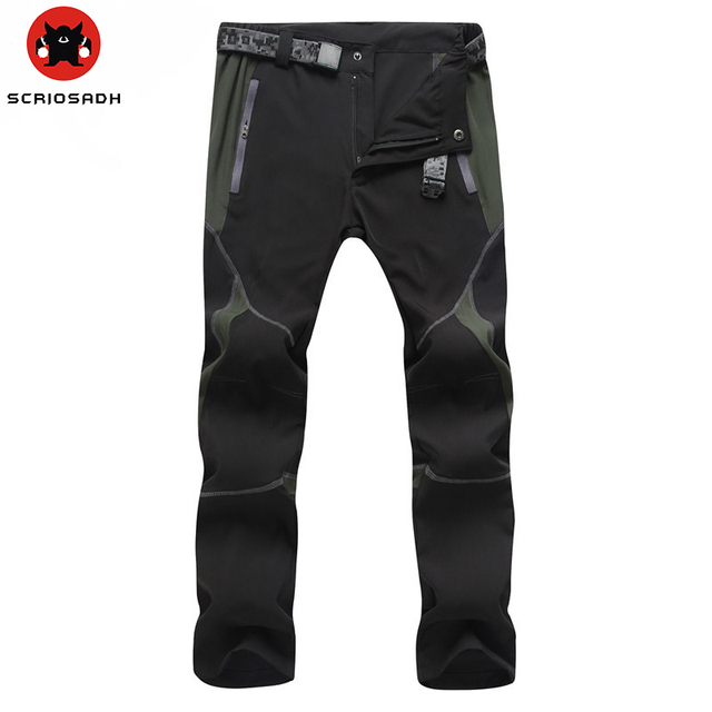 Outdoor Men Women Quick-drying Pants Sports Man Hunting Pants MountainClimbing pantalones Quick Dry Waterproof Windproof Pants 2