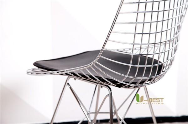 Eames Eiffel DKR Wire Chair Black-5