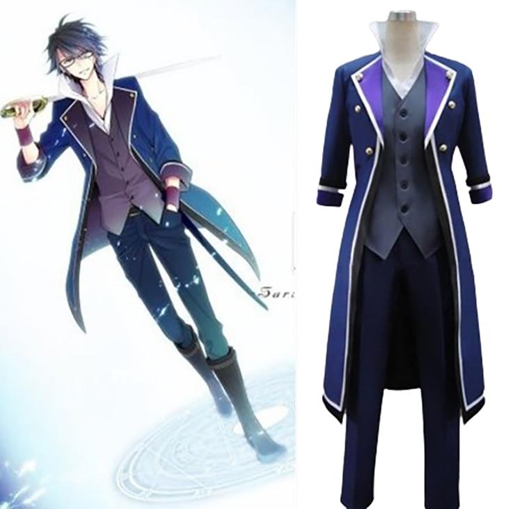 K Projet Sceptre 4 Saruhiko Fushimi Cosplay Costume Ensemble Complet Custom Made