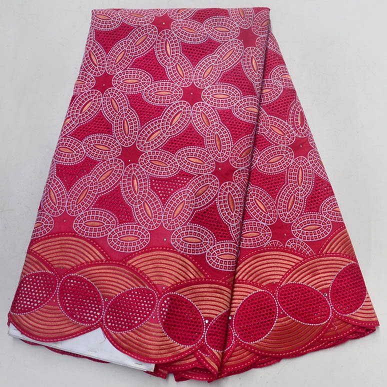 Good Quality African Lace Fabric, Fashion Cotton Lace Fuchsia Wedding Dress, Swiss Voile Lace In SwitzerlandGood Quality African Lace Fabric, Fashion Cotton Lace Fuchsia Wedding Dress, Swiss Voile Lace In Switzerland