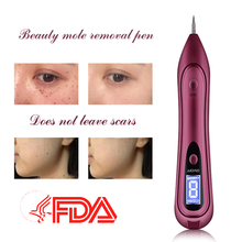 New Face Makeup Tools Freckle Moles Removal Laser USB Pen LCD Display Sweep Mole Dark Spot Remover Machine Charged Dot Mole new arrivals electric laser age spot pen mole scars warts freckle tattoo removal machine with lcd display
