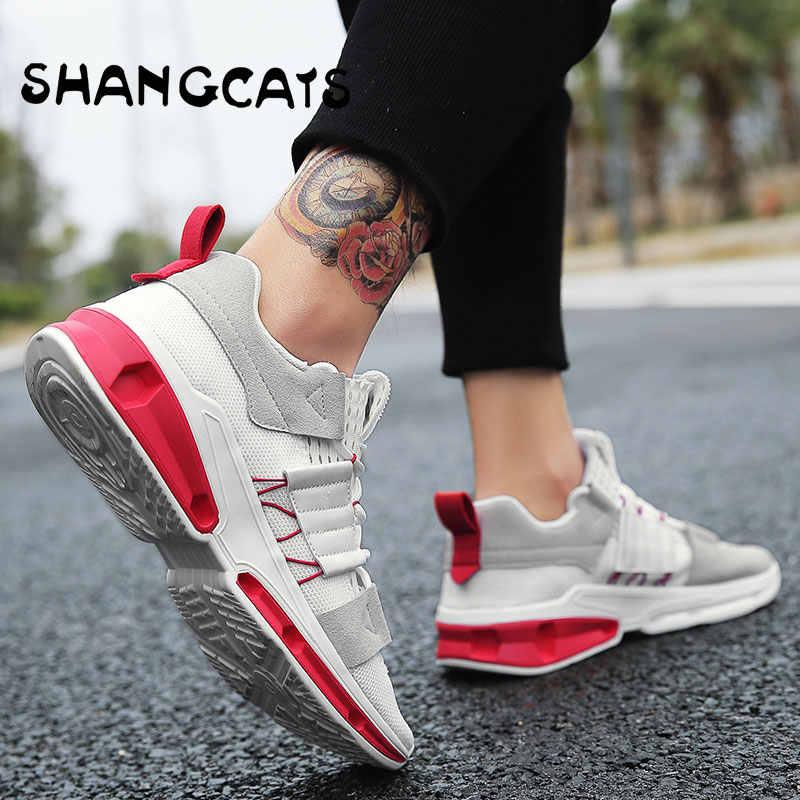 5e7ddc66365a Модные мужские кроссовки для молодых Для мужчин кроссовки дизайнеров Обувь  zapatillas hombre Повседневное Moda обувь Для