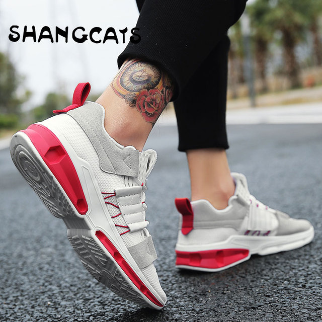 d71381abeaf Fashion Male Sneakers For Young Men trainers Designers Shoes zapatillas  hombre Casual Moda Footwear Men s Shoes