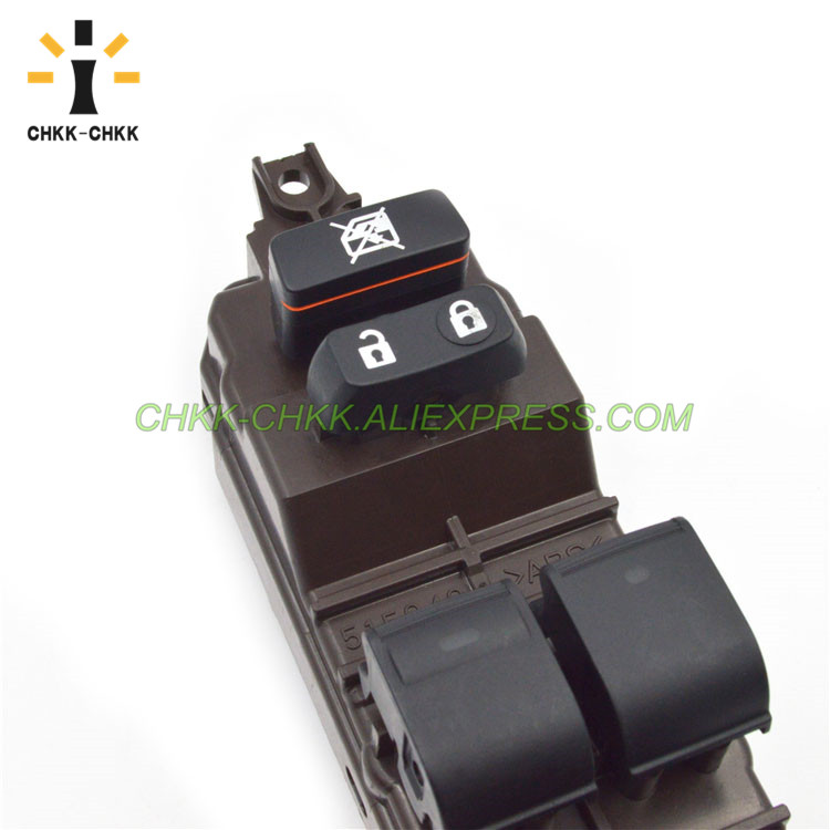 CHKK CHKK New Car Accessory Power Window Control Switch FOR 2005 2011 LEXUS GS TOYOTA 84040 30220 8404030220 in Car Switches Relays from Automobiles Motorcycles